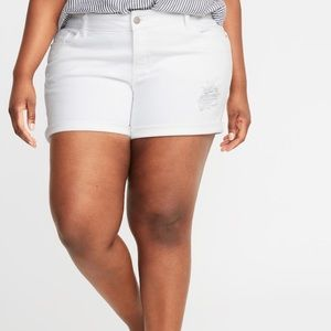"NWT Old Navy Plus Size 24 Mid Rise 5"" Jean Shorts!"